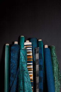 Tissu velours et fibre